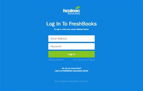Design Modern by Login Page Freshbooks Find Saas Websites Inspiration