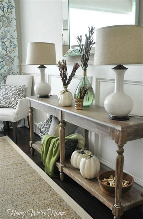 Love This Entry Way Table Everett Foyer Table From World Sofa Table Decor Ideas
