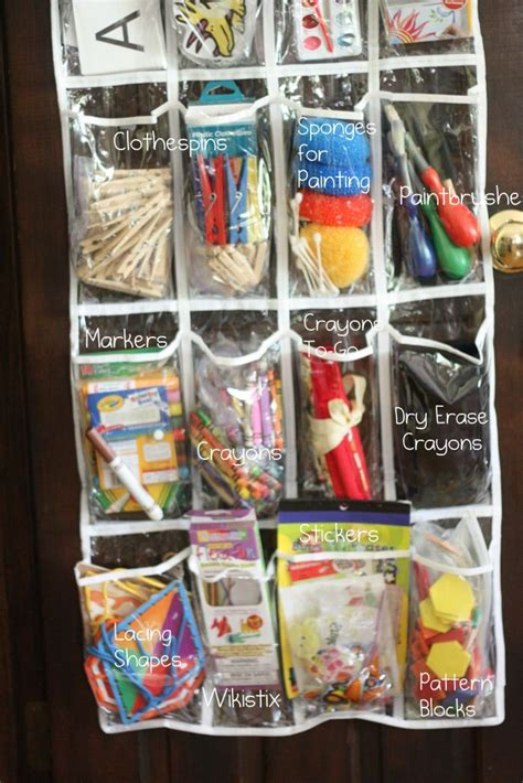 The Door School Supply Organizer by Shoe Storage And Organization Easy Home Decorating Ideas