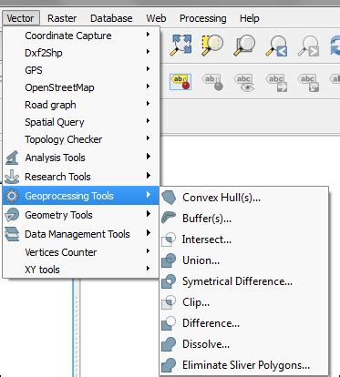 qgis geoprocessing tutorial basic editing geoprocessing tools in qgis
