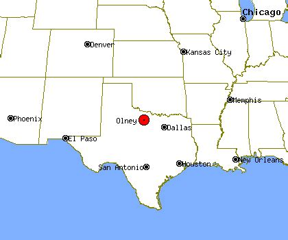 olney texas map olney profile olney tx population crime map