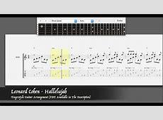Leonard Cohen - Hallelujah [Easy Fingerstyle Guitar ... Leonard Cohen Hallelujah Song