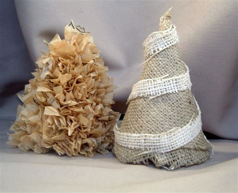 how to make a burlap christmas tree guest project make burlap trees my