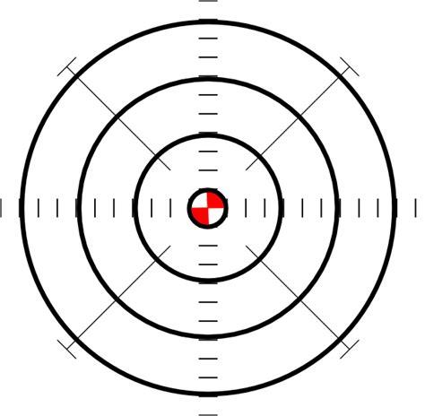 printable shooting targets bullseye printable w red bullseye clip art at clker com vector