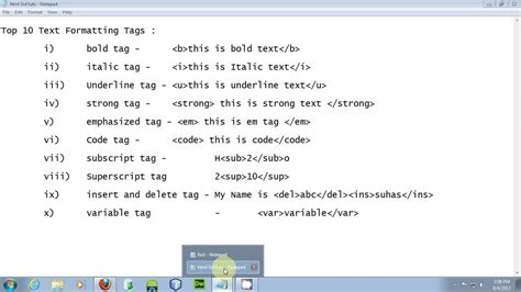 format html xcode html tutorial 2017 03 tutorial top 10 text formatting