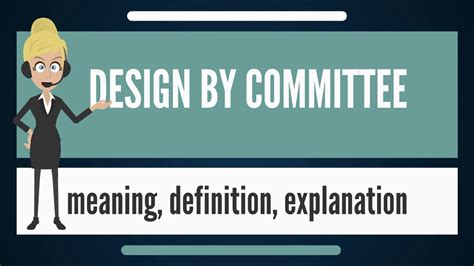 vi design meaning what is design by committee what does design by committee