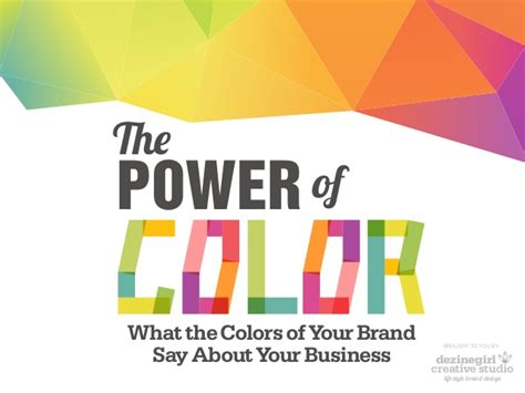 color of power the power of color in branding