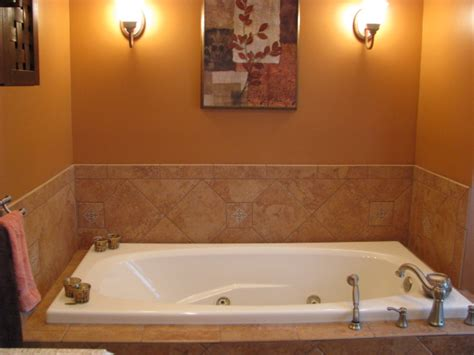 bathroom with jacuzzi and shower bathroom jacuzzi tubs room ornament