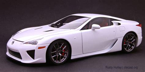 Msz Lexus Lfa Diecast White 1 43 autoart 1 18 lexus lfa diecast zone