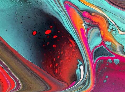how to pour acrylic paint on canvas inner heat poured fluid acrylic artwork by nancy wood http