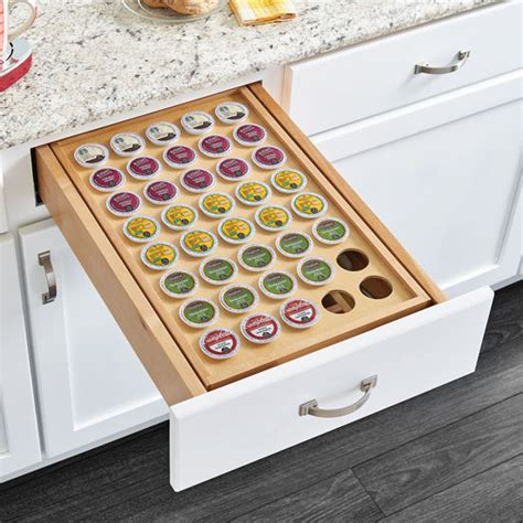 Kcup Drawer by Rev A Shelf Two Tier Drawer Insert With K Cup Holder