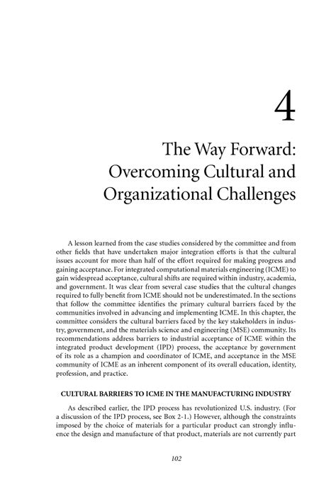 leading forward overcoming the obstacles of books 4 the way forward overcoming cultural and organizational