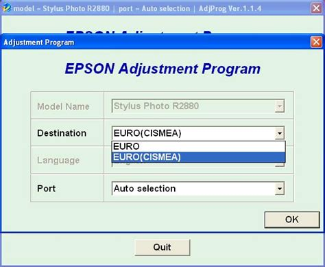 epson tx710w adjustment program ver купить epson r2880 adjustment program