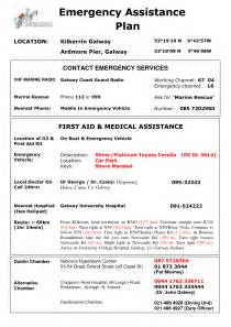 emergency plan template for sports best photos of templates for writing disaster plans