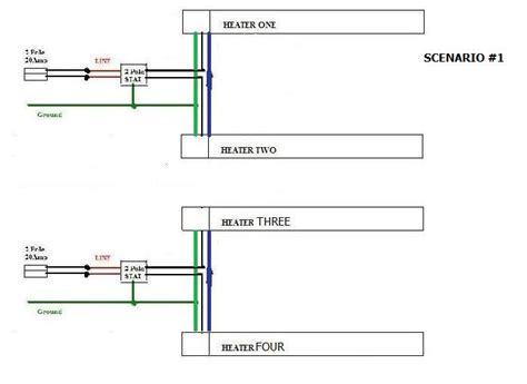 wiring diagram for two thermostats to one furnace