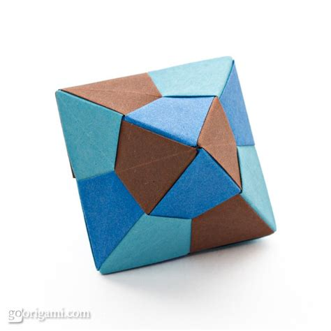 origami icosahedron and octahedron by tomoko fuse go origami