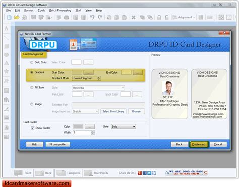 identity card software free id card creator software freebrilliant