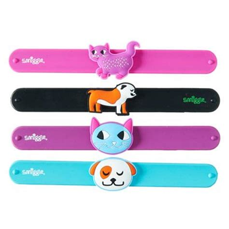 Slap Band Smiggle 1 band cats and dogs on
