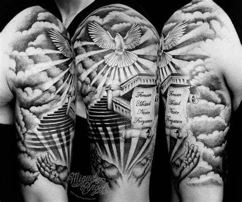 1000 ideas about heaven tattoos on pinterest stairway