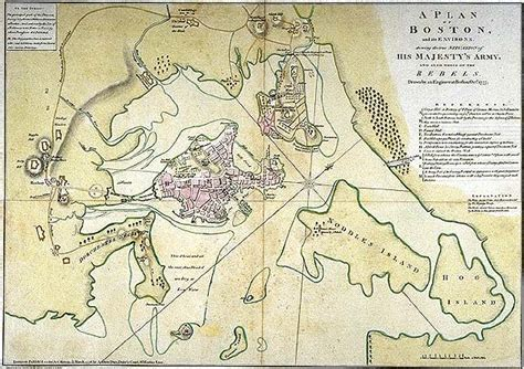 boston map 1776 hsb41 changing course the river in the revolution