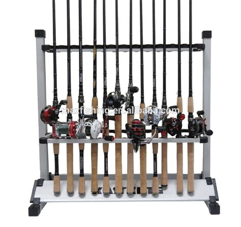 aluminum fishing rod display rack buy fishing rod