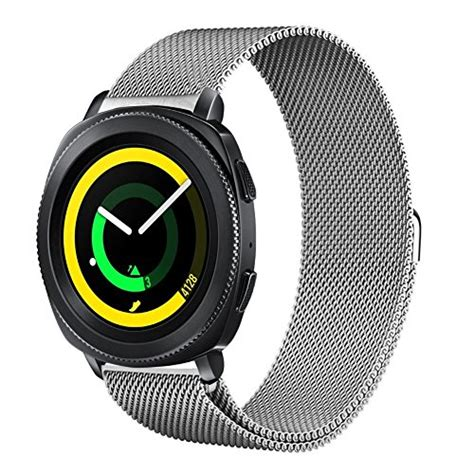 Milanese Magnetic Loop Stainless Steel 20mm Gear S2 Classic R732 kartice for samsung gear sport bands gear sport band