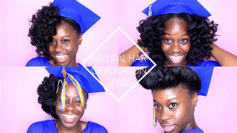 graduation hairstyles natural hair natural hair graduation styles youtube