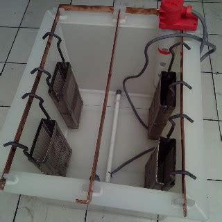 Bak Plating alat dan bahan nikel chrome celup pesanan bak nikel