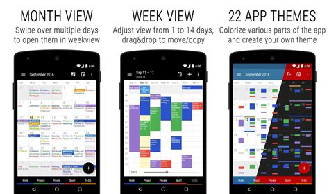 great apps for android 15 best calendar apps for android 2017