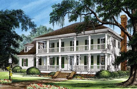 southern traditional house plans colonial cottage country farmhouse southern traditional