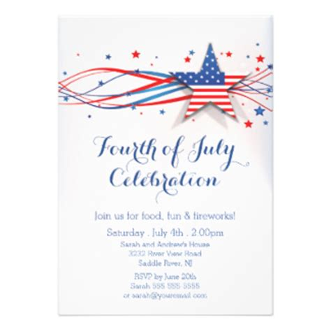 4th of july invitation templates memorial day invites 440 memorial day