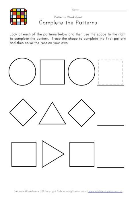 c pattern worksheet for nursery pattern worksheets for nursery worksheets for all