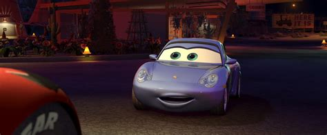 cars sally sally character from cars pixar planet fr