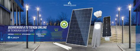 iluminacion solar energia solar