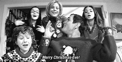 black gif xmas various tv gif find on giphy