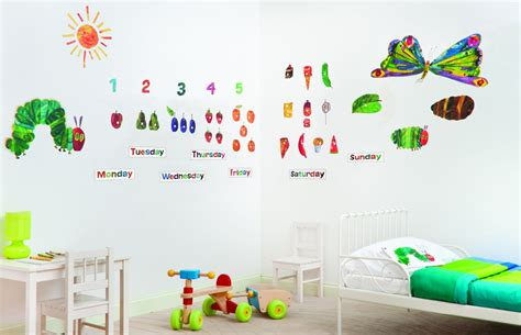 hungry caterpillar wall stickers the hungry caterpillar by funtosee wallpaper direct