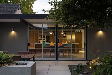 Mid Century Architecture eichler house renovation by klopf architecture mid