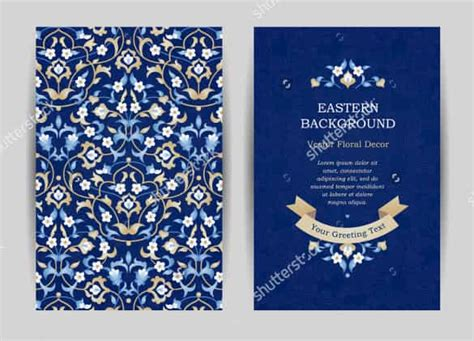 blue gold wedding card template 74 wedding invitation templates psd ai free