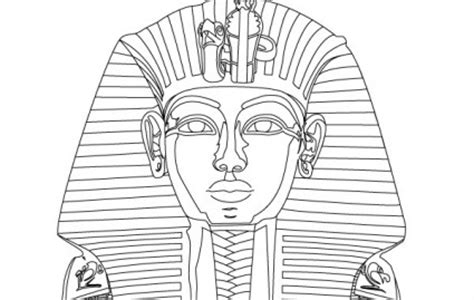 King Tut Mask Template by Tutankhanun Mask Clipart Clipground