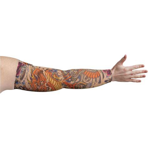 tattoo arm compression sleeve lymphedivas lotus dragon tattoo compression arm sleeve