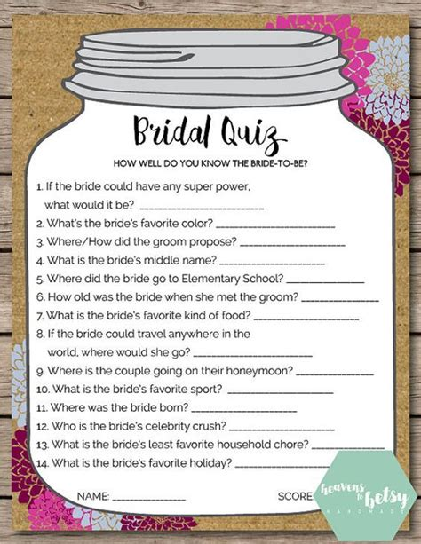 bridal shower to play 15 non boring bridal shower bored