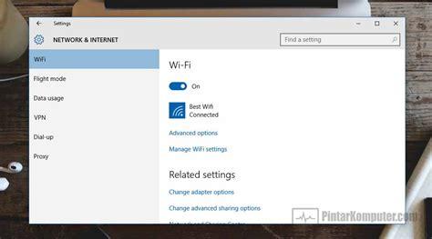 membuat hotspot di laptop windows 10 begini 4 cara mengaktifkan wifi di laptop serta