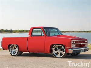 Big Wheels Truck Magazine 1981 Chevy C10 Obsession Custom Truck Truckin Magazine