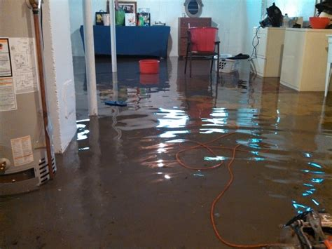 midwest basement tech recovering from a basement flood