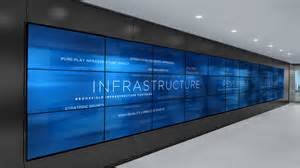 media wall brookfield place media wall union design p g windows on the world pinterest