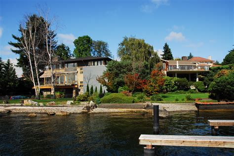 seattle waterfront homes puget sound lake washington