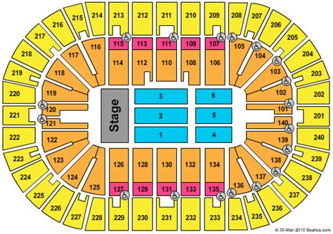 bank arena seating chart cheap us bank arena tickets