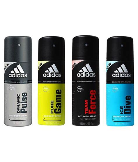 Adidas Deodorant adidas 150 ml s deodorant spray pack of 4 buy
