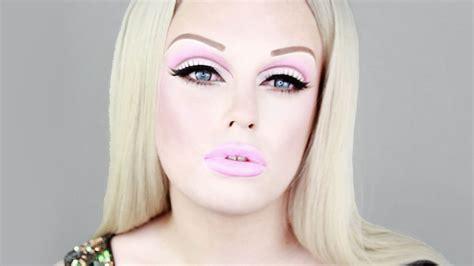 tutorial makeup natural barbie barbie makeup how to transform halloween doll tutorial