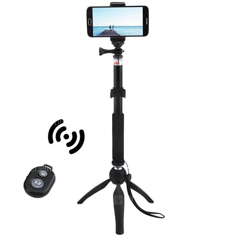 Mini Tripod 360 Derajat Promo 13 with coupon for mini tripod mount selfie stick bluetooth shutter holder black from